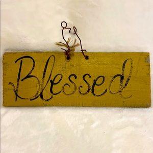 Primitive Blessed Sign!!